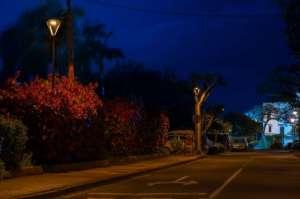 昕诺飞智能互联道路照明系统呵护加那利群岛的星空美景输送链