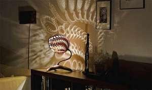 创意台灯绽放炫丽色彩轴类零件